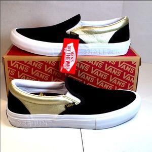 NIB Vans Pro Slip-on Skateboard Shoes